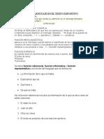 Funciones Del Lenguaje en El Texto Expositivo