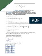 Calculo de La Varianza Para Datos Sin Agrupar