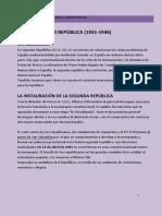 Tema 2 La II Republica