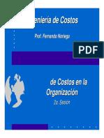 2a. Sesion - Flujo de Costos en La Organizacion