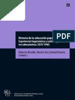 Historia de la educación popular -Elisalde