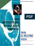 Guía metodológica de educación ambiental
