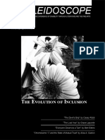 Kaleidoscope Issue 74 - The Evolution of Inclusion