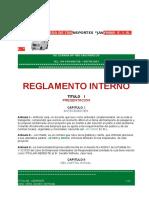 No 05 Reglamento Interno JAVYMAR E.I.R.L.