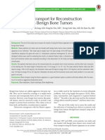 Bone Transport for Reconstruction