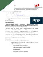 Procedure Aanvragen Doctoraat SoFa Koninklijk Conservatorium DEF 2014-2015