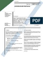 NBR 05413 - 1992 - Iluminação de Interiores.pdf