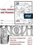 Greek Mythology - Gods, Heroes and Monsters