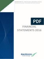 Financial Statement 2016