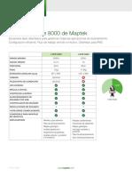 Comparativo de Modelos de Escaner Maptek I-site Scanner 8000 Series Esp