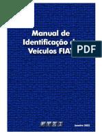 Manual FIAT Identificaçaõ Veicular