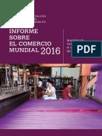 Informe Comercio Mundial 2016 OMC