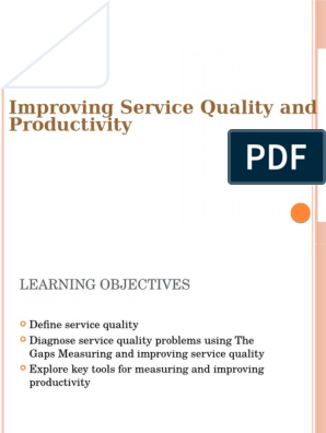 Servicequality Pptx Reliability Engineering Production And Manufacturing
