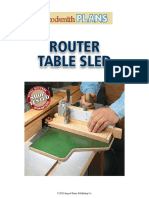Router Table - Sled