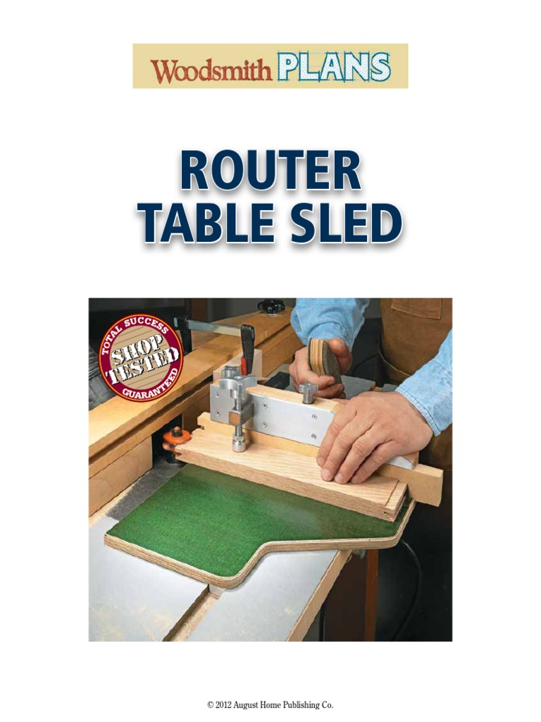 Router table sled screw crafts greentooth Choice Image