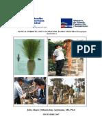 MANUAL SOBRE EL USO Y MANEJO DEL PASTO VETIVER .pdf