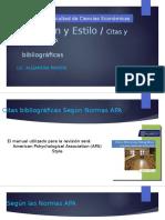 Informacion - Citas Bibliograficas