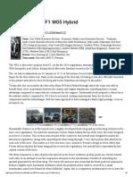 Mercedes AMG F1 W05 Hybrid - F1technical