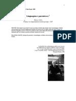 SILVA Linguagem&Parentesco