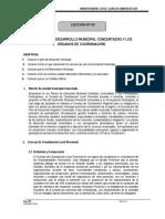 LOS PLANES DE DESARROLLO MUNICIPAL CONCERTADOS Y LOS  ORGANOS DE COORDINACIÓN