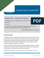 IG 2040 Policies and Procedures
