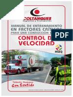 Manual Control de Velocidad