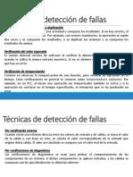 Deteccion de Fallas