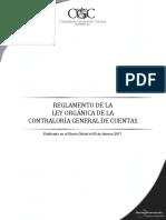 3 Reglamento Ley Organica Cgc Acuerdo Gubernativo 9-2017