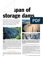Lifetime of Storage Dams