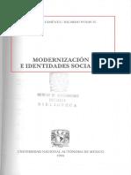 Modernizacion e Identidades Sociales