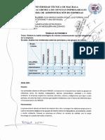 Elaboración de La Matriz Axiológica de Valores y Principios