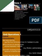 Fluid Particle Separations