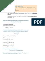 Princípio Da Indução Matemática