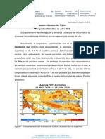 Boletin Climatico 7-2016