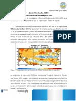 Boletin Climatico 8-2016