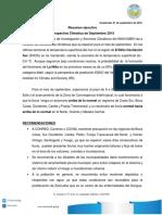 Boletin Climatico 9-2016 Resumen Ejecutivo