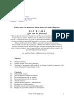 1. Las Finanzas y El Sistema Financiero
