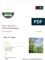 Basic Information Guide for GA and LEED AP Exams - Updated June 2015