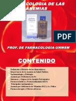 Clase 31 - Farmacología de las anemias