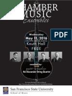portfolio concert poster