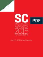 SC Magazine Awards 2015 Honoured in the U.S.