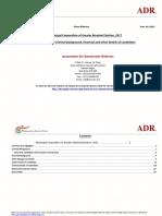Mumbai Municipal Elections Analysis of Criminal Financial Background of Candidates