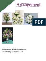 Carl Joshua Flower Arrangement