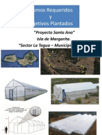 Invernaderos - Insumos Proyecto Sta Ana