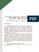 Adaptação Do STAI-Y, Santos e Silva 1997