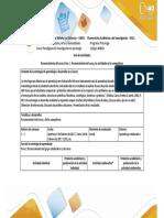 Guía de Actividades y Rúbrica de Evaluación – Paso 1 – Reconocimiento Del Grupo Colaborativo y Del Curso