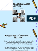 Modelo Sociocrìtico