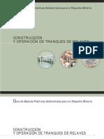 Construcción y operación de tranques de relaves – Guía, Sernageomin, 14ppt.pdf