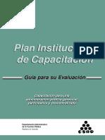 Plan de Capacitacion --Instrumentos