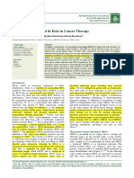 Rna Interference and Its Role in Cancer Therapy